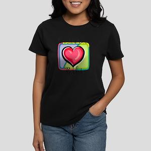 WB Grandma [Uzbek] Women's Dark T-Shirt
